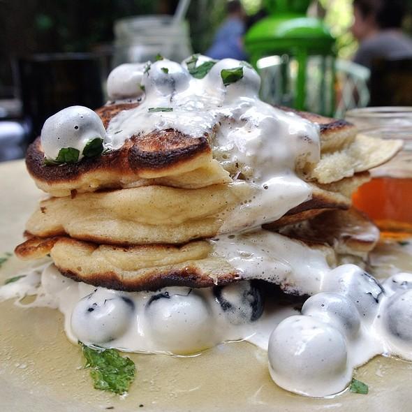 Sour Cream Pancakes - Talula's Garden, Philadelphia, PA