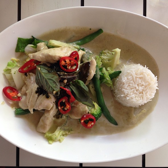 Green Curry @ Chow House
