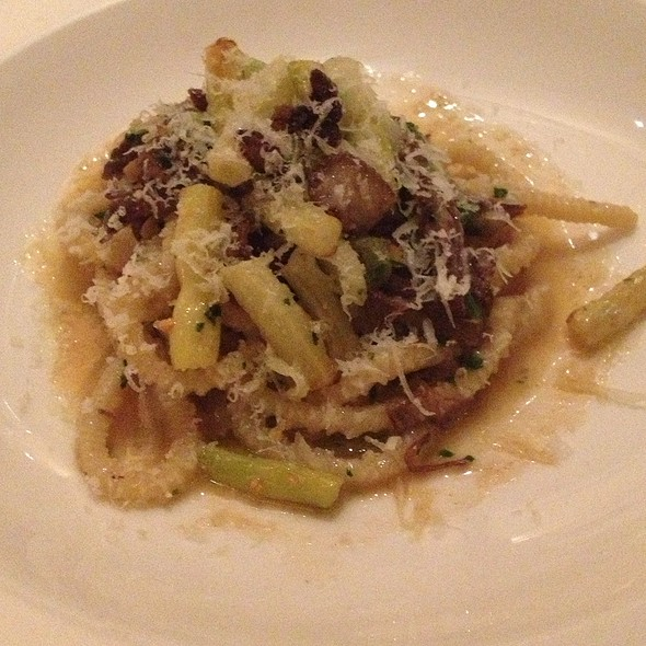 Short Rib & Scallion Capletti - Telepan, New York, NY