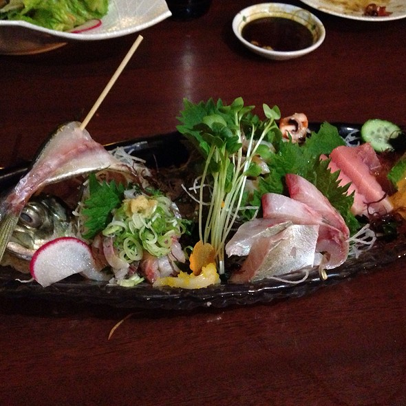 Chef Special Sashimi Platter @ Japanese Restaurants Hoshi