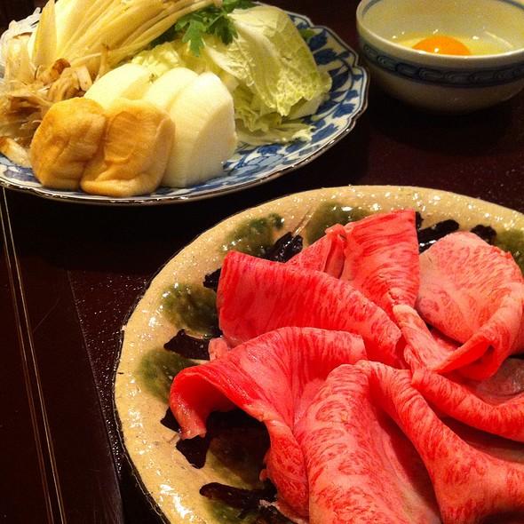 すき焼き @ 対い鶴