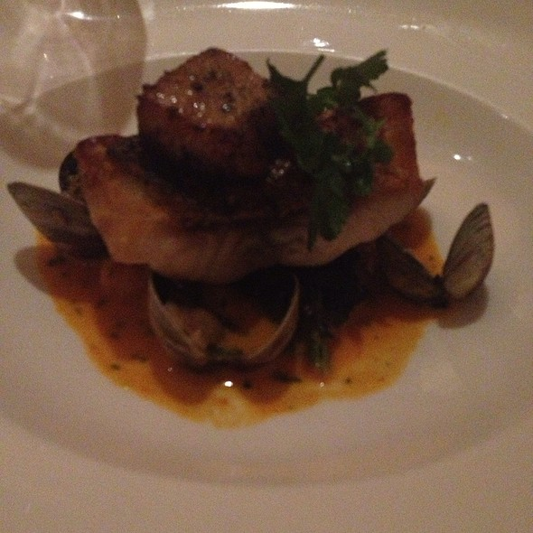 Wild sea bass - Telepan, New York, NY