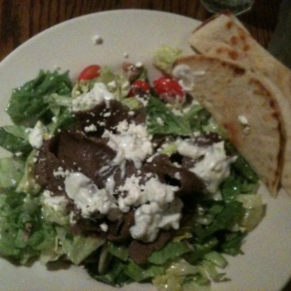 Gyro Salad @ Michael's Bar & Grill