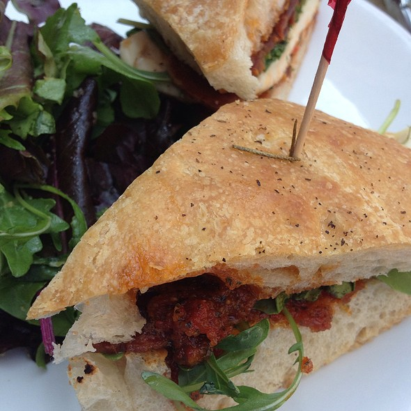 Grilled Chicken & Arugula On Foccacia - Cercle Rouge, New York, NY
