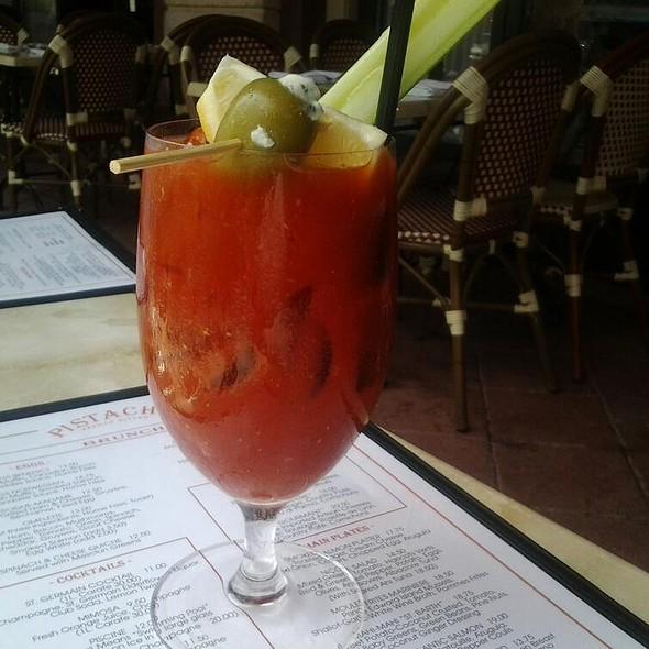 Spicy Bloody Mary - Pistache French Bistro, West Palm Beach, FL