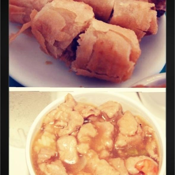 Pork Steamed Rice & Shanghai Rolls @ Ding Qua Qua
