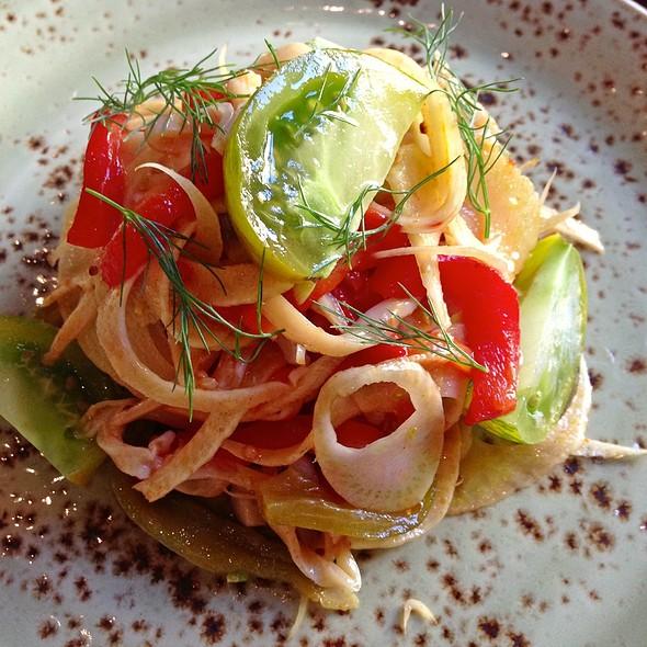 Razor Clam Salad @ Raven & Rose