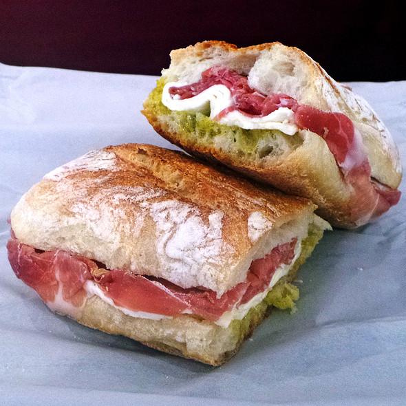 Prosciutto And Mozzarella Sandwich @ Di Palo Fine Foods Inc