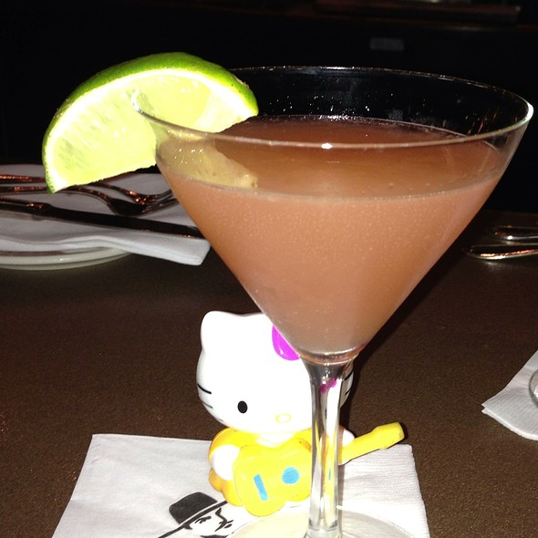 Pink Grapefruit Martini - El Gaucho - Seattle, Seattle, WA