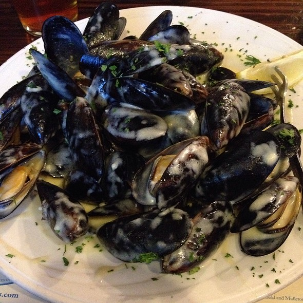 Mussels - Conor O'Neill's, Ann Arbor, MI