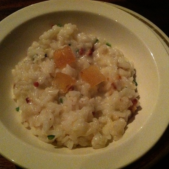 Smoked Bacon Risotto - Cliff Bell's, Detroit, MI