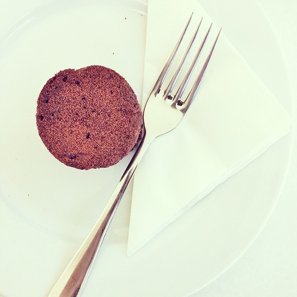 flourless chocolate cake @ Words Bookstore Cafe