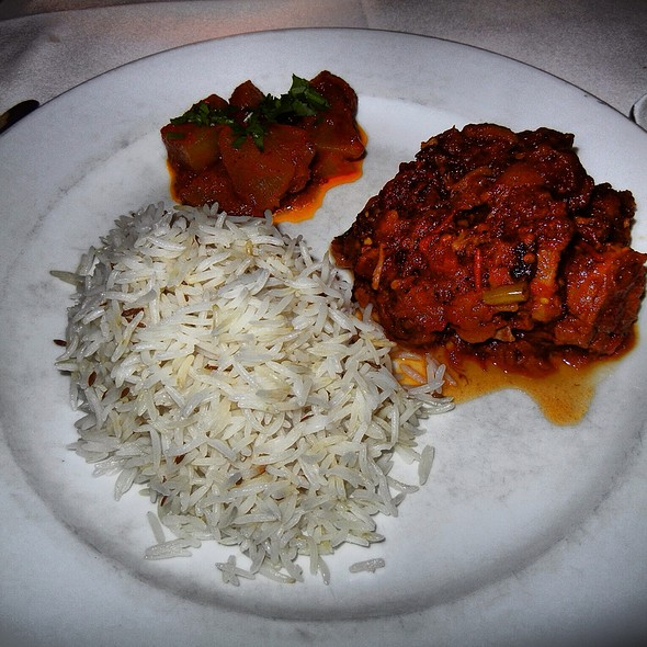 Braised Lamb In Spicy Sauce - The Helmand Restaurant, Baltimore, MD