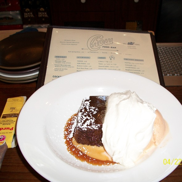 Ginger cake @ Chow