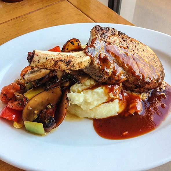 Chile Dusted Pork Chop @ Signature Grill at the JW Marriott Starr Pass Resort & Spa