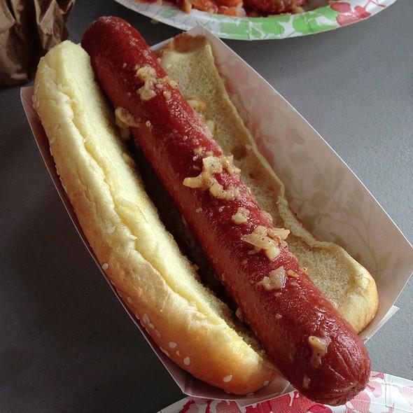 Garlic Hot Dog