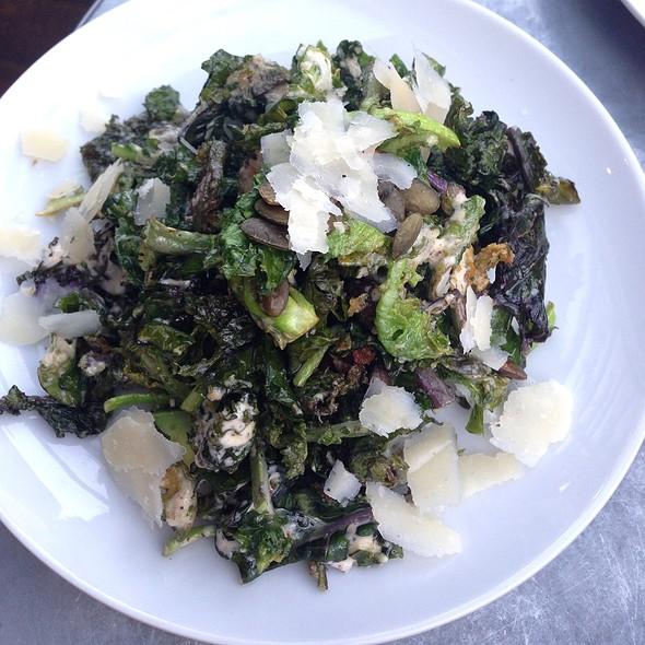 Crispy Brussel Sprout Salad - Laurel Hardware, West Hollywood, CA