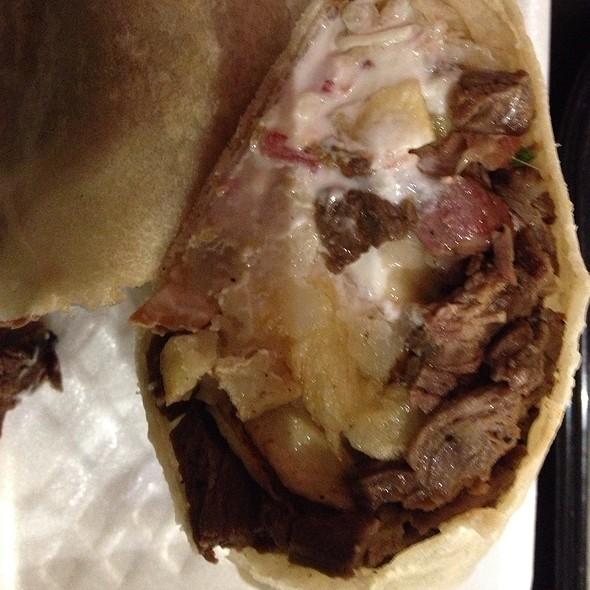 California Burrito @ Lucha Libre Gourmet Taco Shop