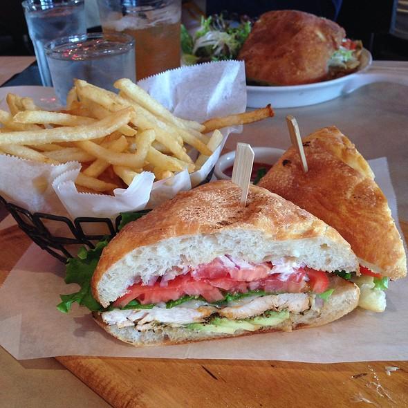 Spicy Grilled Chicken Sandwich - Great Maple - Fashion Island, Newport Beach, CA