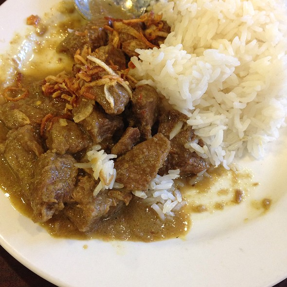 Beef Rendang @ Lime Tree - Southeast Asian Kitchen