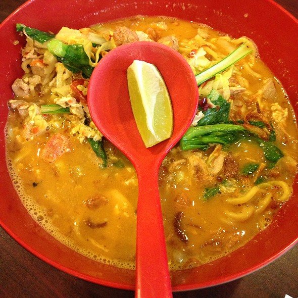 Curry Laska @ Lime Tree - Southeast Asian Kitchen