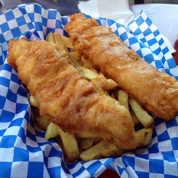 Fish & Chips @ The Codmother Fish and Chips