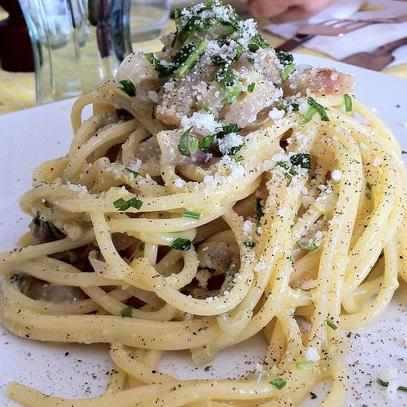 Spaghetti alla Carbonara @ Home