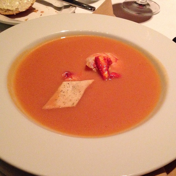 Lobster And Shrimp Bisque