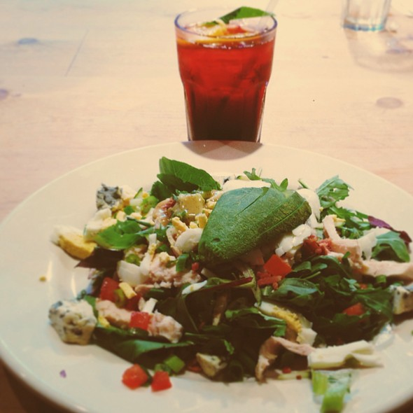 Grilled Chicken Cobb Salad @ Le Pain Quotidien
