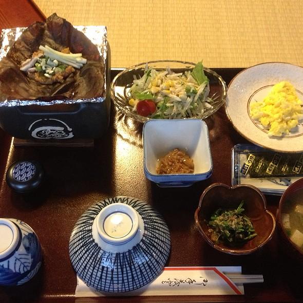 Ryokan Breakfast @ Kanjiya