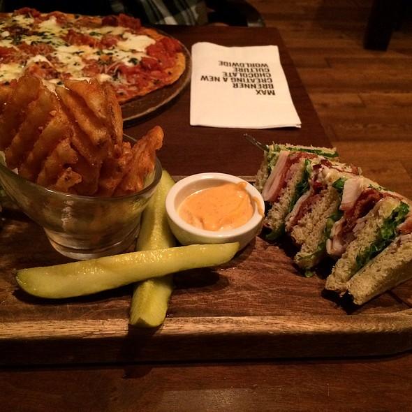 Chubby Smoked Turkey Club - Max Brenner - Boston, Boston, MA