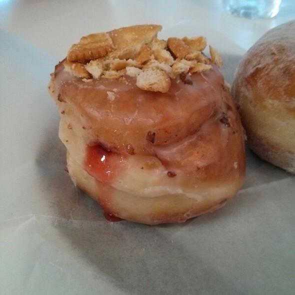 Strawberry Cheddar Doughnut @ Dizzy's Doughnuts