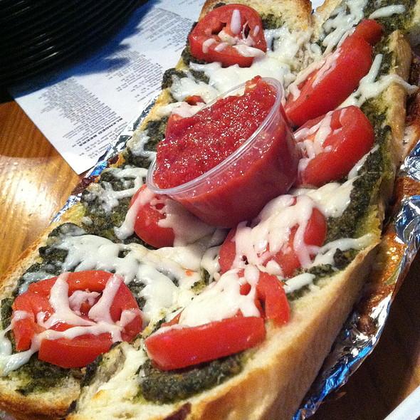 Pesto Bread @ Pazzo's Pizza Pub