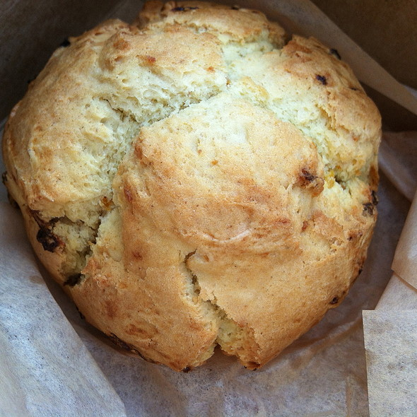 Ginger apricot scone @ The Midway School Bakery