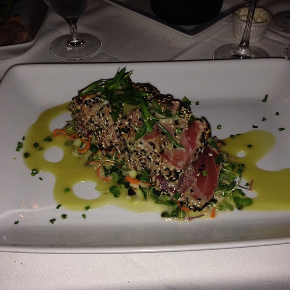 Sesame Tuna - Roots Steakhouse - Morristown, Morristown, NJ