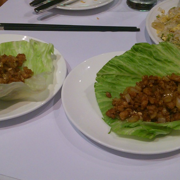 'Chicken and Mushroom wrap in Lettuce' @ Yum Cha Robina
