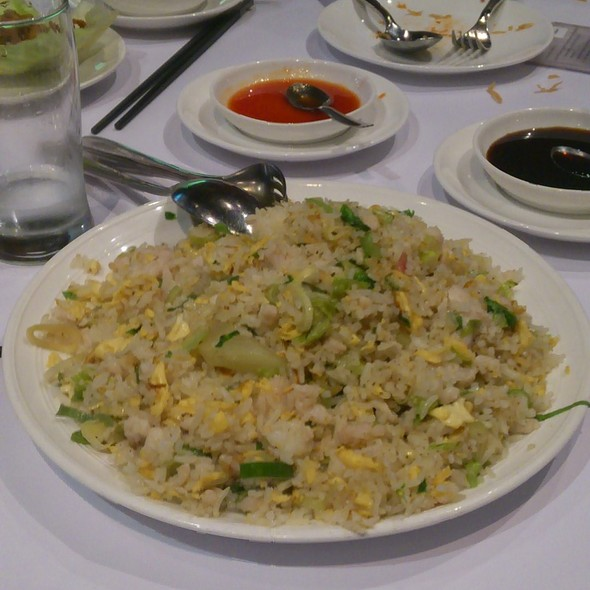 Fried Rice with Salty Fish and Diced Chicken @ Yum Cha Robina
