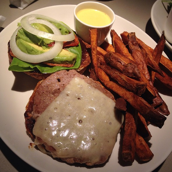 The Q Turkey Burger @ Standard Market Grill