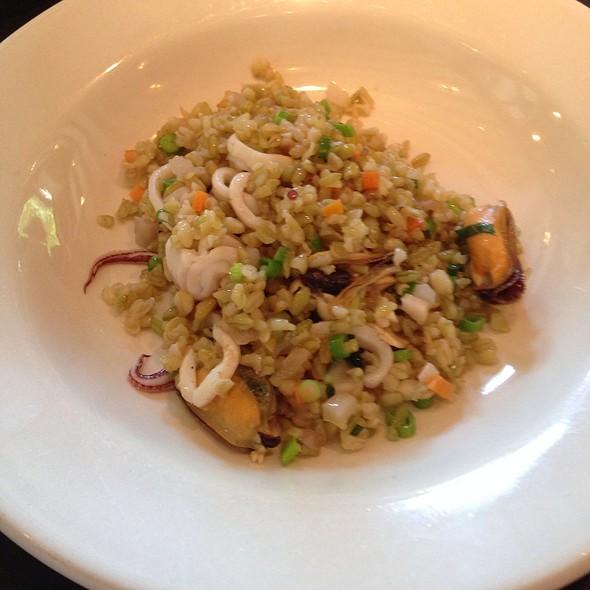 Farro Verde, Seppia, Mussels, Green Onion