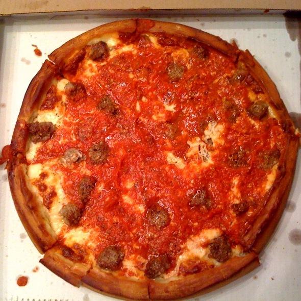 Sausage Pizza @ Papa Del's Pizza