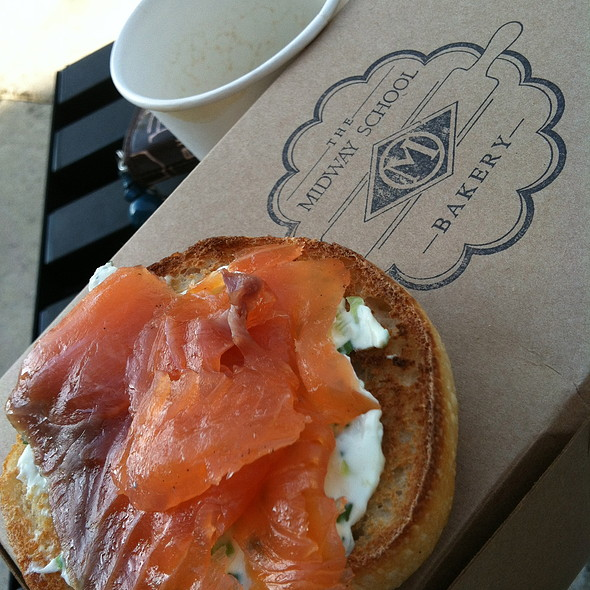 Bagel And Lox @ The Midway School Bakery