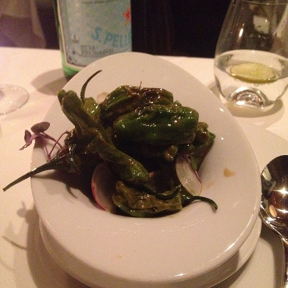 Shishito Peppers @ Marche Moderne