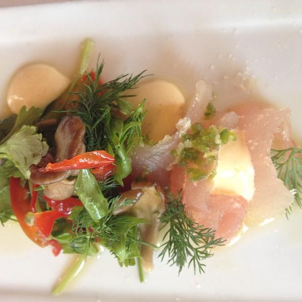 Albacore Crudo - Joe's Restaurant, Venice, CA