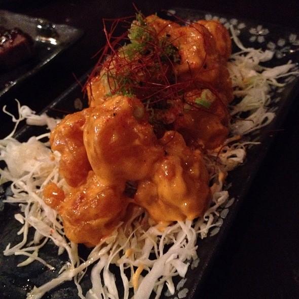 Deep Fried Rock Shrimp With Mayonnaise @ Kiraku
