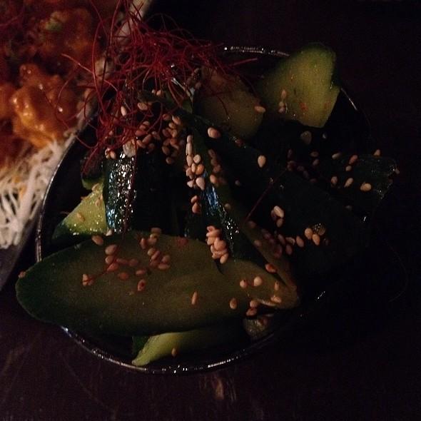 Pickled Cucumbers @ Kiraku