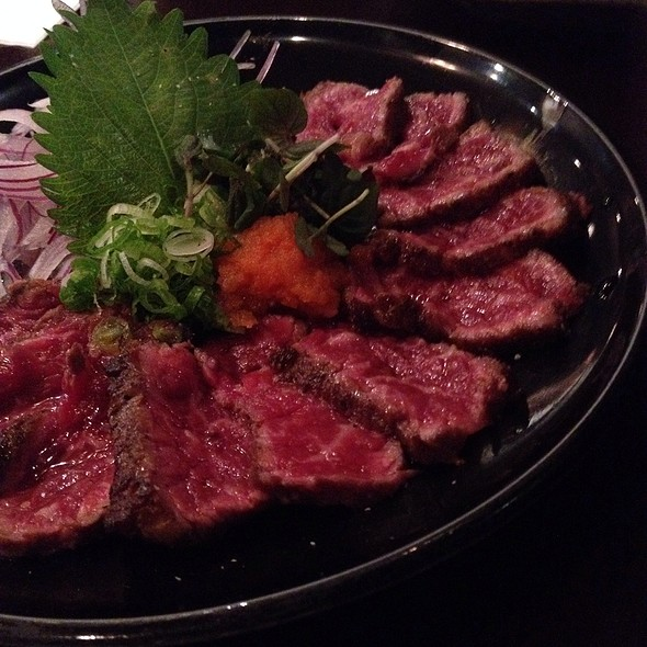 Angus Beef Steak Tataki  @ Kiraku
