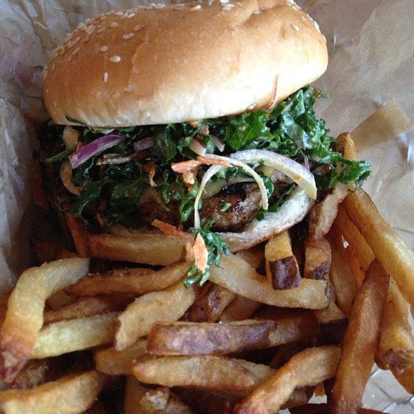 Blackboard Burger No.4 @ FARM BURGER