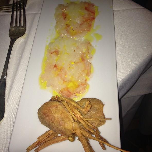 Shrimp Carpaccio - Capo, Santa Monica, CA