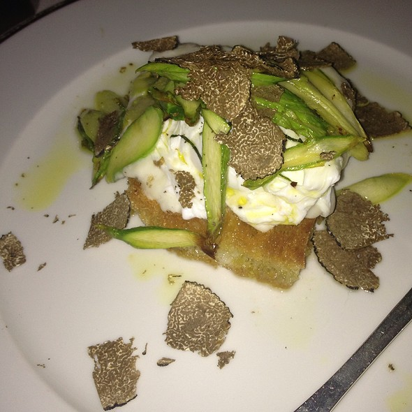 Burrata With Truffles - Capo, Santa Monica, CA