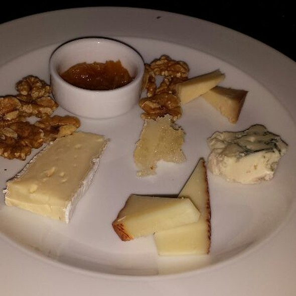 Cheese Plate With Honeycomb, Walnuts And Summer Apricot Chutney - Blink Restaurant, Calgary, AB